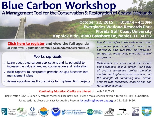 Blue Carbon workshop flyer_Oct22_Naples_v02