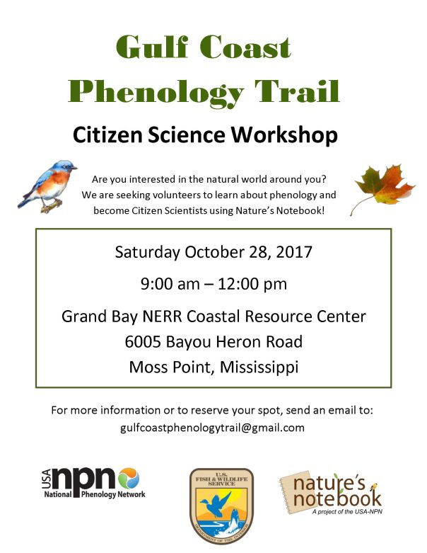 GulfCoastPhenologyTrail workshop flyer.jpg