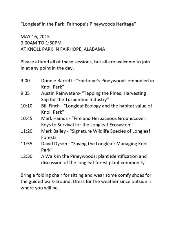 Longleaf in the Park May 16 Agenda.jpg