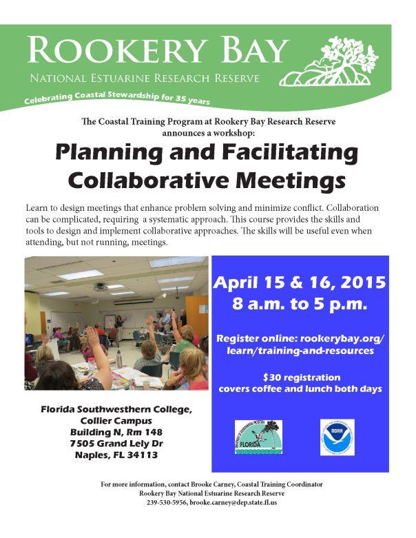 PlanningFacilitatingCollaborativeMtgAnnouncementApr2015